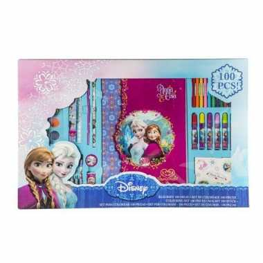 Frozen kleurset 100 delig